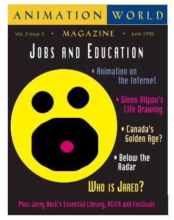 JOBS AND EDUCATION - Animation World Network