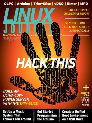Linux Journal - November 2011 - Missoula Public Library