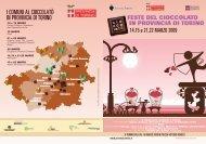 Scarica il calendario - Provincia di Torino