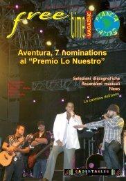 """Aventura, 7 nominations al """"Premio Lo Nuestro ... - freetimelatino.it"""