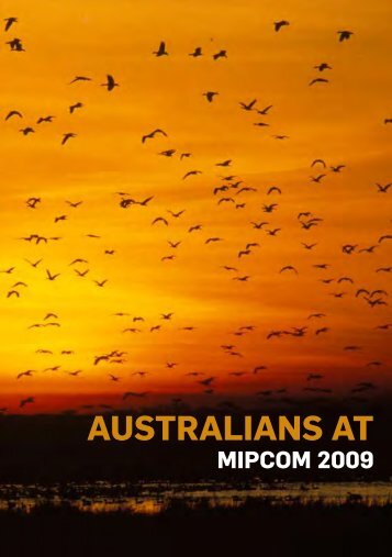 Australians at MIPCOM 2009 (PDF 1.2mb) - Screen Australia