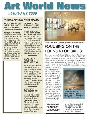 February, 2009 - Art World News