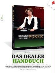Royal Flush Magazin - Dealer Handbuch Poker