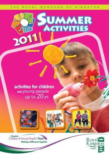 activities for children - Royal Borough of Kingston