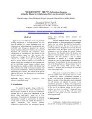 WORLDCOMP'07 – SERP'07: Submission of papers A ... - UQAM