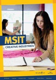Creative Industries (PDF 3.1MB) - Metropolitan South Institute of TAFE