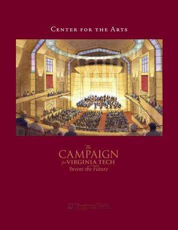 Center for the Arts - The Campaign For Virginia Tech