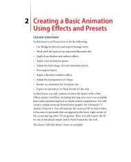 Creating a Basic Animation Using Effects and Presets 2 - Adobe