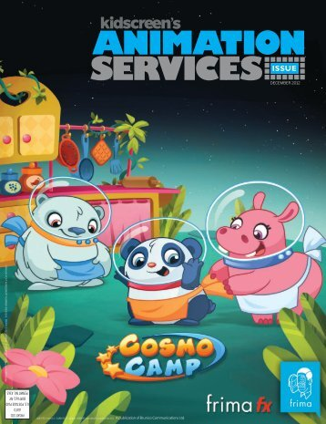 rs ANIMATION SECIVRES CONTENTS - Kidscreen