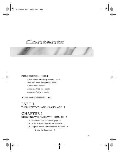 Pdf html books programming