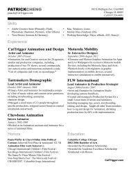 CatTrigger Animation and Design PATRICKCHENG Skills ...