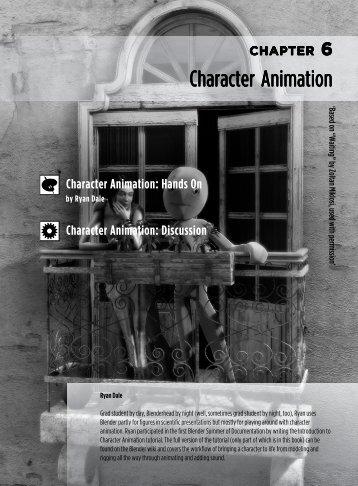 Character Animation - Blender