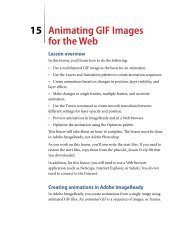 15 Animating GIF Images for the Web Lesson overview - Adobe