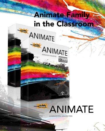 Animate Family Academic Datasheet - Toon Boom
