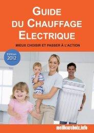 GUIdE dU CHAUffAGE ELECTRIqUE