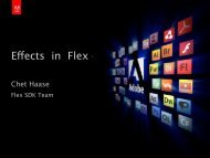 Effects in Flex 4 - Mike Chambers