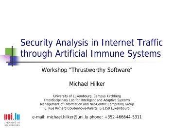 Slides Michael Hilker Trustworthy Software 2006