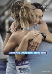 sound mind sound body sound world - ASICS Global Home