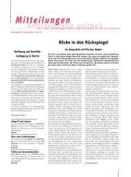 Blicke in den Rückspiegel - Anthroposophische Gesellschaft in ...