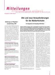April 07 - Anthroposophische Gesellschaft in Deutschland