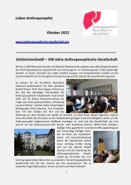 ZeitZeichenZwölf - Anthroposophische Gesellschaft in Deutschland