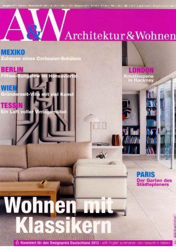 2011 10 architektur wohnen - Architektur Und Wohnen
