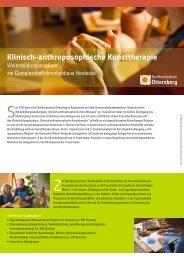 Klinisch-anthroposophische Kunsttherapie - Institut für ...