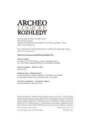 2003_1 - Archeologický ústav AV ČR