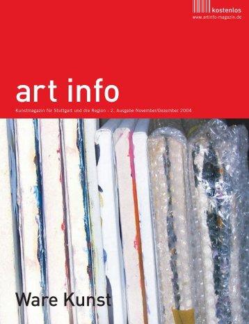 Ware Kunst - art info