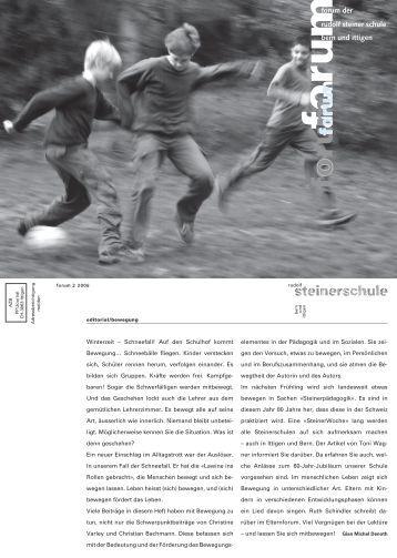 inhaltinhalt - Rudolf Steiner Schule Bern und Ittigen