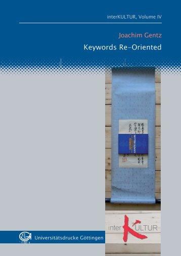 Keywords re-oriented