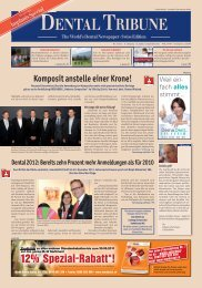 Implants Special DENTALTRIBUNE Swiss Edition - Oemus Media AG