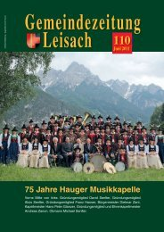 ! GZ 84 - 32 Seiten - Leisach - Land Tirol