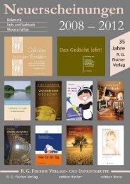 Zur Verlags- Und Imprintgruppe R.G.Fischer Gehören U. A.
