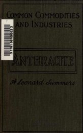 Anthracite Industry 1922 - Old Forge Coal Mines