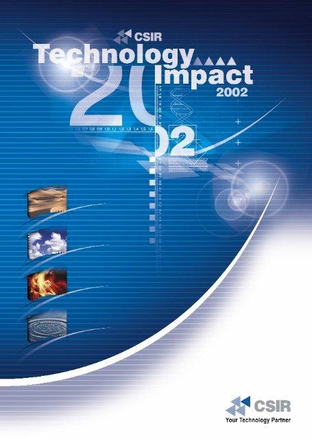 CSIR Technology Impact 2002