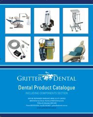 Dental Product Catalogue - Gritter Dental