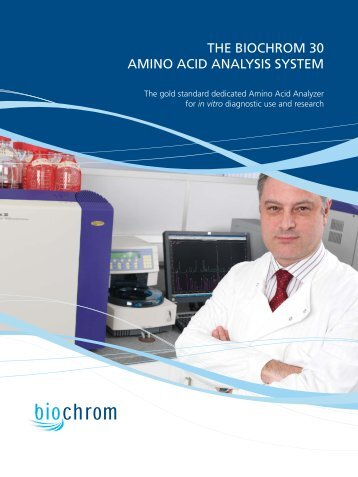the biochrom 30 amino acid analysis system - Labface