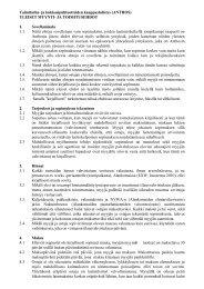 Taimitarha- ja kukkasipulituotteiden kauppayhdistys (ANTHOS ...