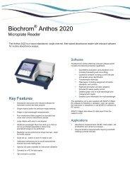 Biochrom Anthos 2020