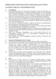 ALLGEMEINE VERKAUFS- UND LIEFERBEDINGUNGEN - rosaco
