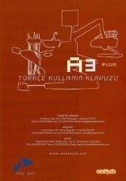 A3 Plus kullanma kitabı 22.09.06 - Dentanet.NET