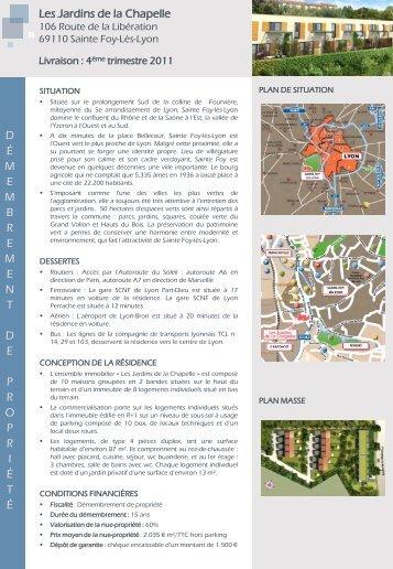 Les Jardins de la Chapelle - Azur InterPromotion