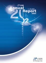 Download complete CSIR Annual Report 2002