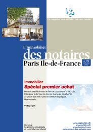 Journal des Notaires