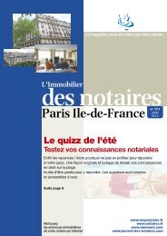 Journal des Notaires