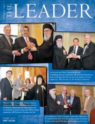 volume xii, issue 1 - spring 2011 - Leadership 100