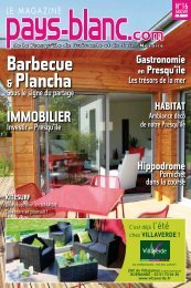 Barbecue & Plancha - Pays-blanc