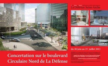Concertation sur le boulevard Circulaire Nord de La ... - Epadesa