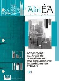 Lancement du Profil de compétences des gestionnaires immobiliers ...